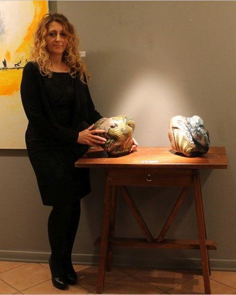Maria Teresa Sabatiello - In mostra alla Galleria Mentana di Firenze