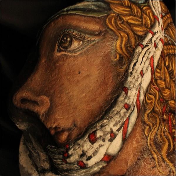 """Maria Teresa Sabatiello - """"LaMiaDama"""" in mostra al Museo Venanzo Crocetti di Roma"""