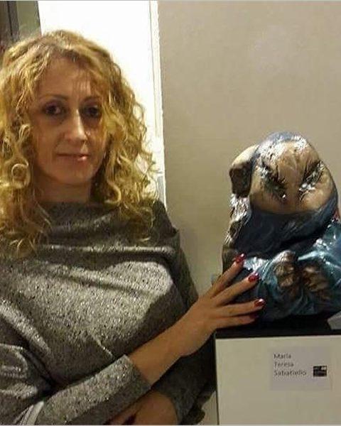 Maria Teresa Sabatiello - Anime di Pietra in permanenza a Firenze