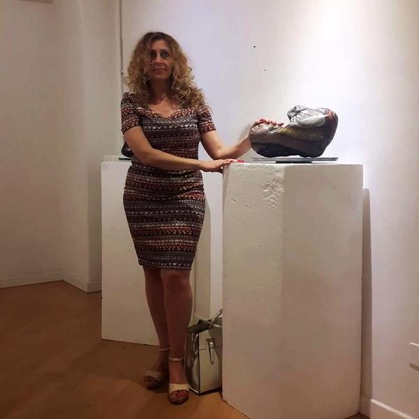 Maria Teresa Sabatiello a Bologna, per lasciare un segno. Traces de Vie