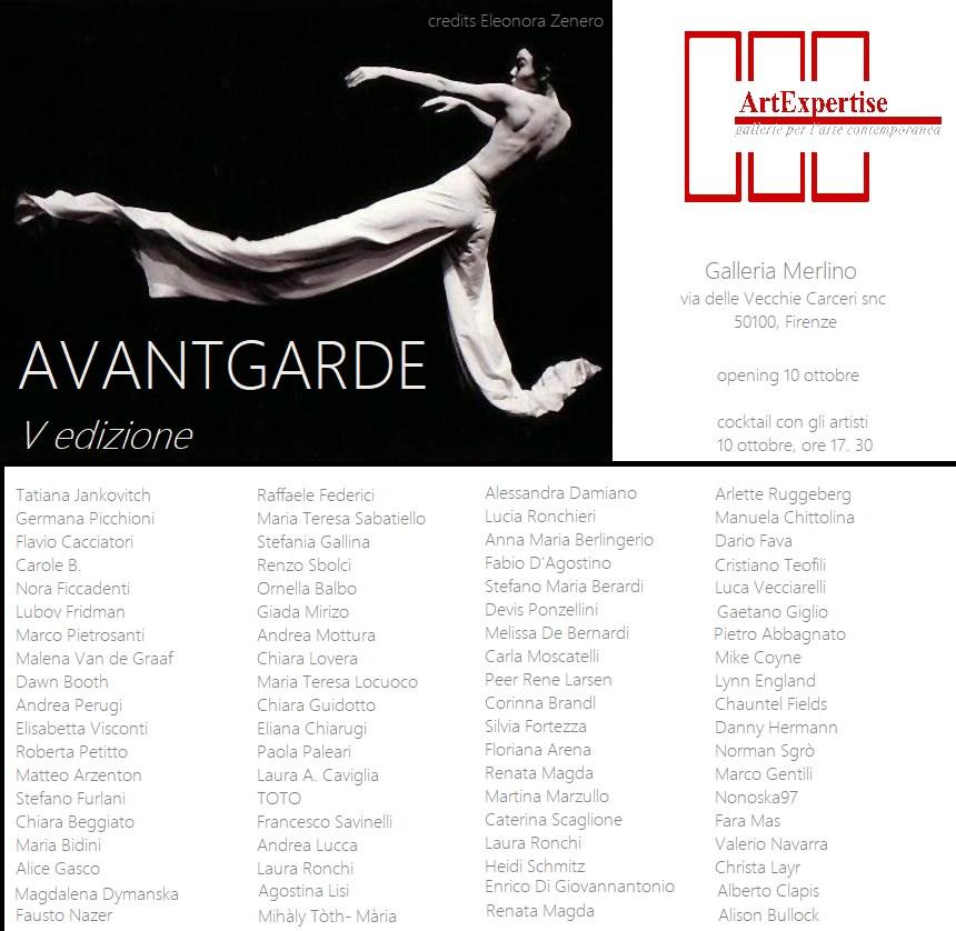Avantgarde - IV edizione: presentazione Artisti finale 2016